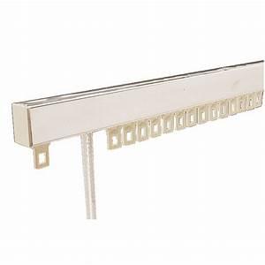 Support Tringle Rideau Plafond : tringle rideaux chemin de fer mont e pour deux rideaux ~ Dailycaller-alerts.com Idées de Décoration
