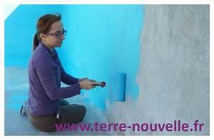 Peinture Pour Piscine : piscine remplacer un liner par de la peinture pour ~ Nature-et-papiers.com Idées de Décoration