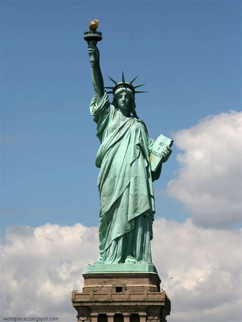 Lade Liberty by The Statue Of Liberty History Information World
