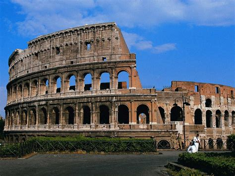 Travel Trip Journey Colosseum Rome Italy