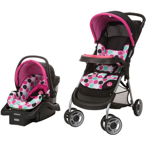chaise haute minnie minnie mouse dotty lift and stroll plus travel system from