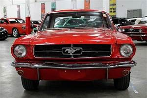 1965 Ford Mustang 99070 Miles Red Coupe 200 Cid Inline