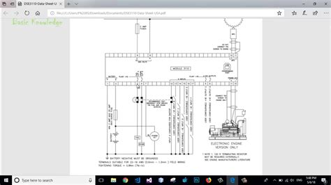 deep sea 3110 typical wiring diagram connection basic