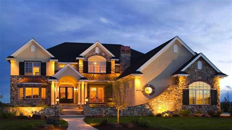 brick house facades luxury homes house plans beautiful