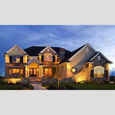 Brick House Facades, Luxury Homes House Plans Beautiful