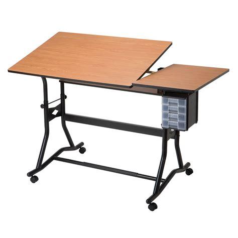 alvin craftmaster iii split top drafting table drafting