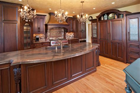 islands traditional kitchen other metro by