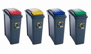 Poubelle De Tri Selectif : poubelle tri s lectif groupon shopping ~ Farleysfitness.com Idées de Décoration