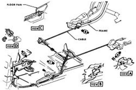 manual repair autos 1981 chevrolet camaro parking system repair guides parking brake cable autozone com