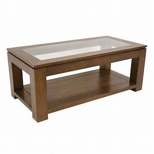 Table Basse Tendance : table basse vitr e salon tendance montr al ~ Teatrodelosmanantiales.com Idées de Décoration