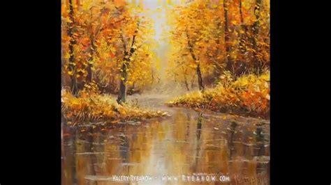 Bob Ross Autumn Paintings