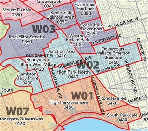 New TREB Districts! - Toronto Realty Blog