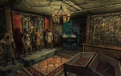secret room  breezehome  skyrim nexus mods