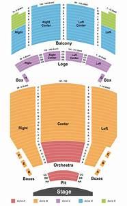 Santander Performing Arts Center Seating Chart  U0026 Maps