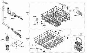 Bosch Dishwasher Parts  Bosch Dishwasher Parts Diagrams