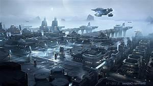 Star Citizen Futuristic Science Fiction Aircraft Video