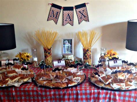 Italian Decorations For Home: Max's Italian Themed Birthday Party