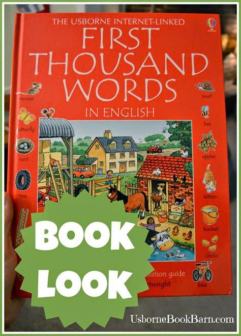 usborne book barn book look