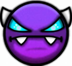 Color Geometry Dash Demon Face Pictures to Pin on ...