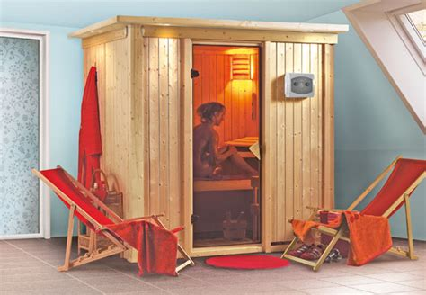 Gartenhaus Zur Sauna Umbauen by Sauna Dfbad Infrarotkabine Obi Ratgeber