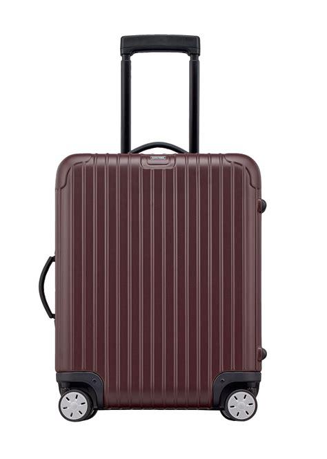 rimowa cabin luggage bergmanluggage rimowa salsa cabin multiwheel domestic