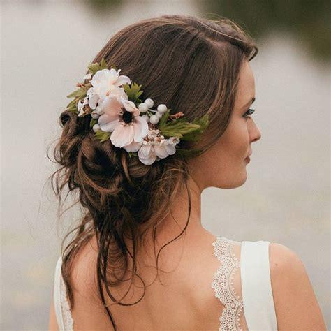 flower hair pieces ideas  pinterest