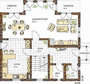 Grundriss Haus 200 Qm : grundrisse einfamilienhaus einfamilienhaus grundrisse von 120 150 qm grundrisse haus ~ Watch28wear.com Haus und Dekorationen