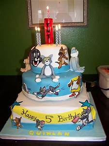 Tom And Jerry Cake - CakeCentral.com