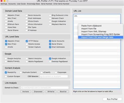 Url Profiler Helps Track Plenty Domains