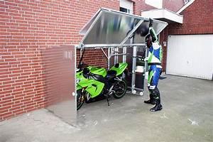 Motorrad Garagen Fertiggaragen : retractable motorcycle shed ~ Markanthonyermac.com Haus und Dekorationen