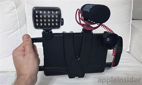 iphone filmmaking equipment review iographer iphone and platform