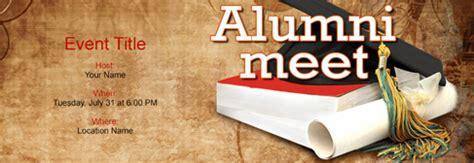 alumni meet invitation  indias   tool