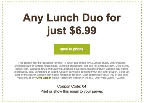 Olive Garden Coupons  Printable Coupons In Store & Coupon