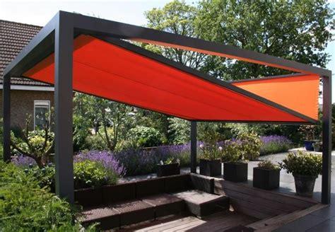 groja cube terrassendach freistehend anthrazit sonnenschutz mesemde terassenideen