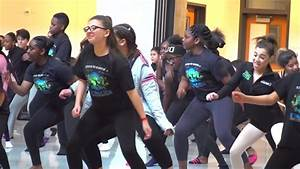 Dallas ISD Students Stay in Step at Dance Event - YouTube