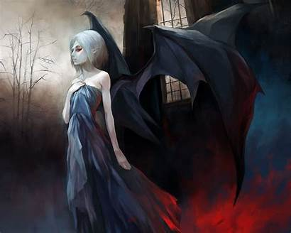 Vampire Dark Fantasy Wallpapers Anime Demon Computer