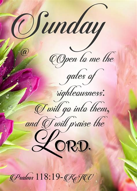 Scriptures and quotes to brighten up your day. Bible Verse Sunday Blessings Good Morning Images - Viral and Trend