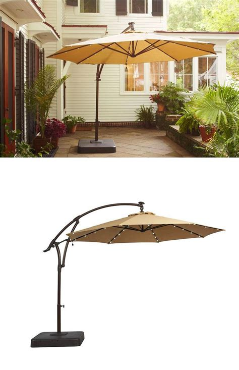 25 best ideas about patio umbrella lights on