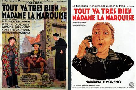 tout va tr 232 s bien madame la marquise henry wulschleger 1936 encyclo cin 233