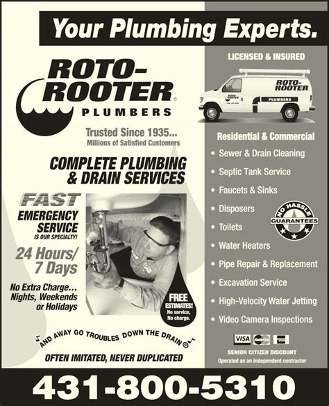 roto rooter plumbing drain services roto rooter plumbing drain service opening hours