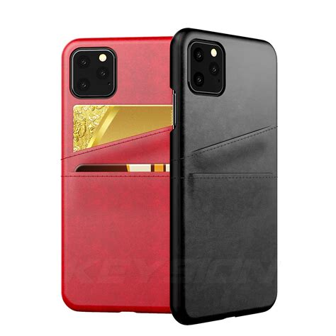 With 5 options of cases, sleeves and wallets to choose from, we have you covered. KEYSION Leather Card Pocket Cases for iPhone 11/11 Pro/11 Pro Max - iLounge Shop