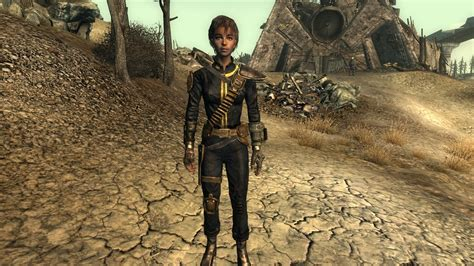 fallout 3 jumpsuit armored vault suit 101 improved black at fallout3 nexus