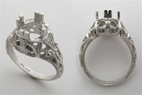 Ring, Engagement And Engagement Ring Settings