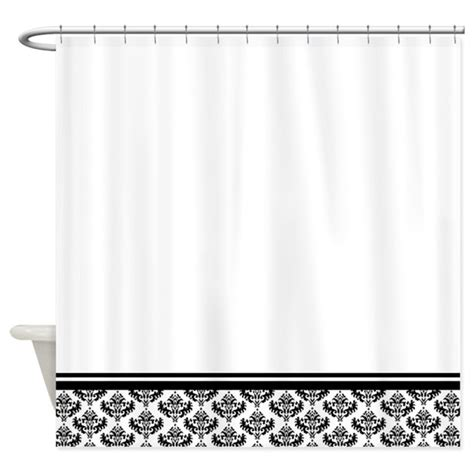 damask shower curtain black damask shower curtain by inspirationzstore