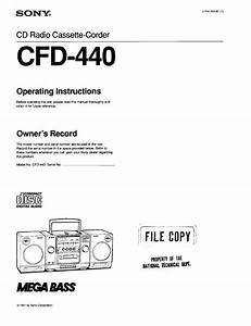Sony Cfd-440