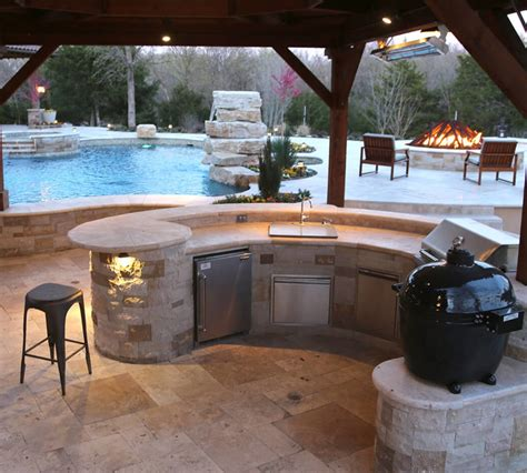 Outdoor Kitchen Frisco Tx  Prestige Pool And Patio