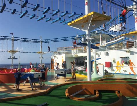 Carnival Magic Deck by Carnival Magic Cruise Experience Top 10 Favorite Things