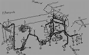 Electrical Wiring - Tractor John Deere 4850 - Tractor