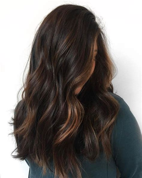 Rich Black Hair Color by 60 Chocolate Brown Hair Color Ideas For Brunettes Hair