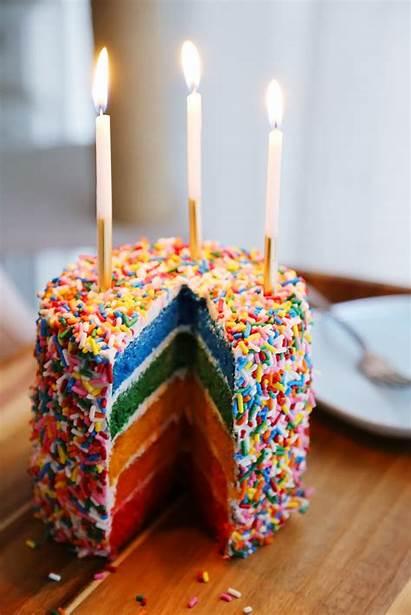 Cake Rainbow Easy